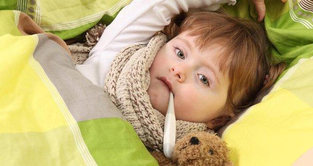 Лечение простуды и ОРВИ у детей 3 лет