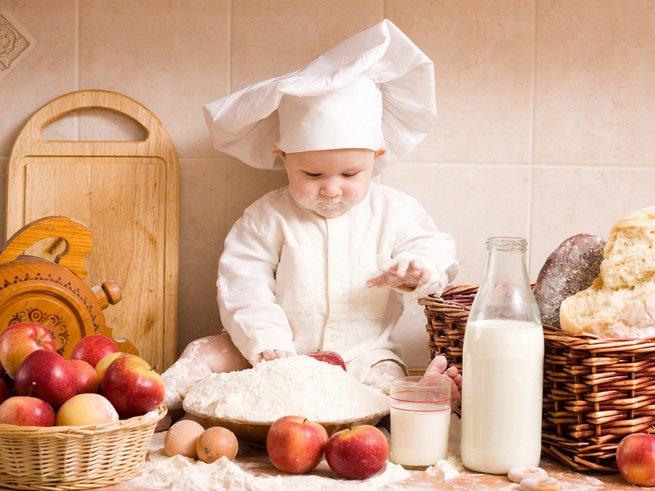 Питание ребёнка в 8 месяцев