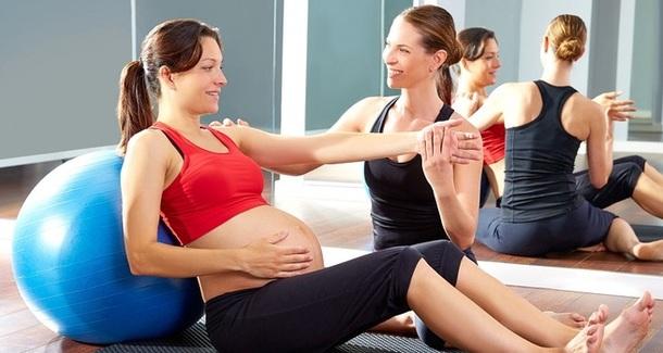 Гимнастика для лёгких родов