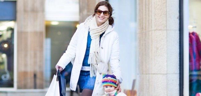 4 тёплых сэта для зимней прогулки с малышом