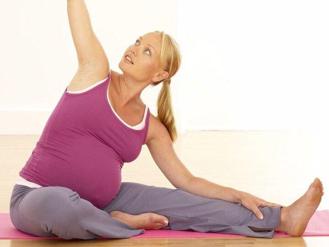 Упражнения во время беременности полезны для ребёнка