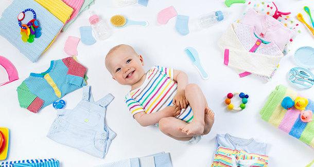 Таблица: список покупок к рождению малыша