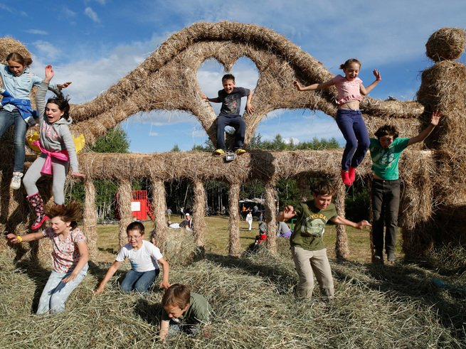 5 самых интересных площадок детского фестиваля современного искусства