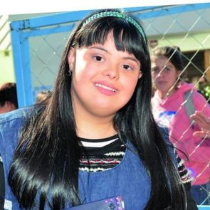 Девушка с синдромом Дауна стала воспитателем в детском саду