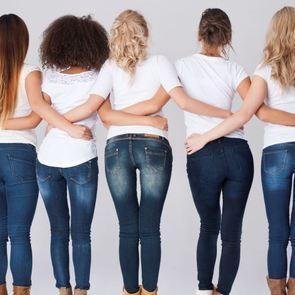 Таблица: как выбрать идеальные джинсы для вашей фигуры