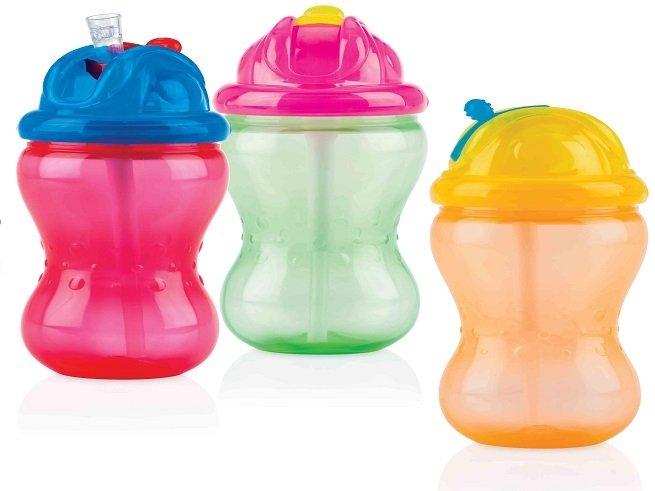 Как научить ребёнка пить из трубочки
