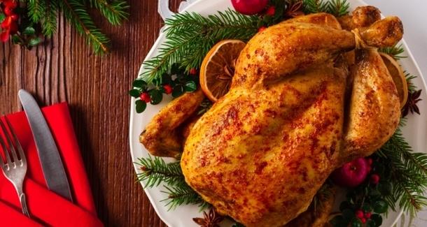 Необычные рождественские блюда из птицы
