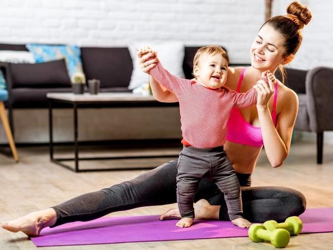 Мама в форме: как вернуть фигуру после родов