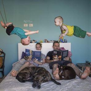 Фото: Когда дома растут близнецы