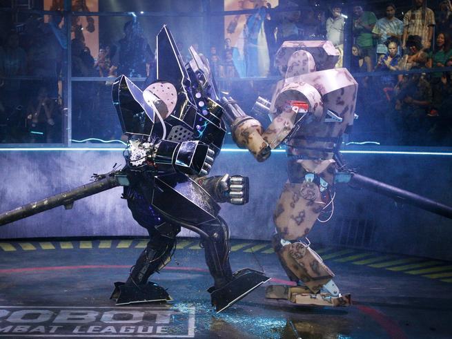 Битва роботов-тяжеловесов пройдет  в СК  «Олимпийский»
