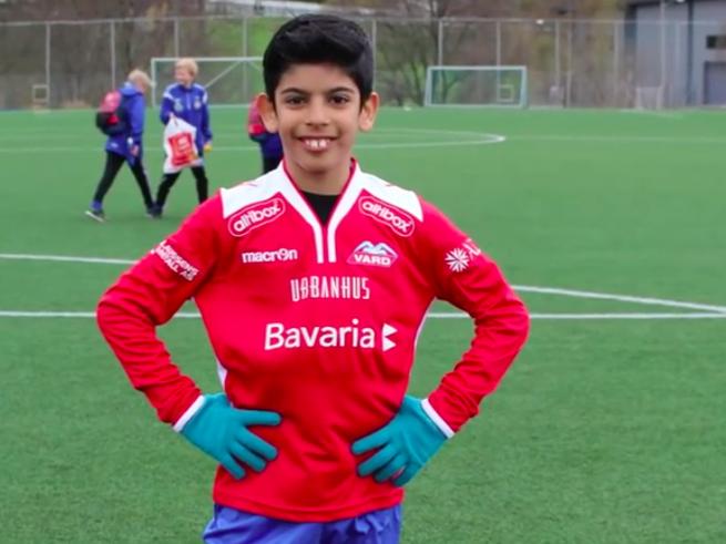 Сын палестинских эмигрантов стал футбольной звездой