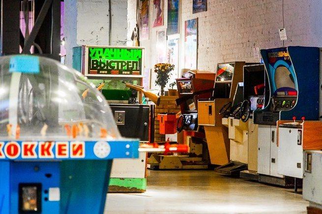 В музее советских игровых автоматов  ждут гостей всех возрастов