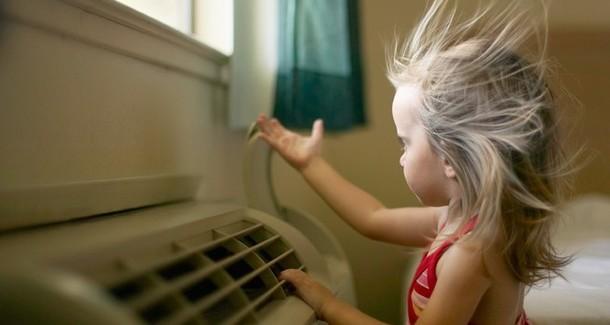 8 способов простудить ребенка под кондиционером