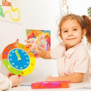 Как выучить с ребёнком дни недели и время суток