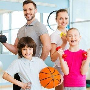 Где спортивно отдохнуть с ребёнком летом?