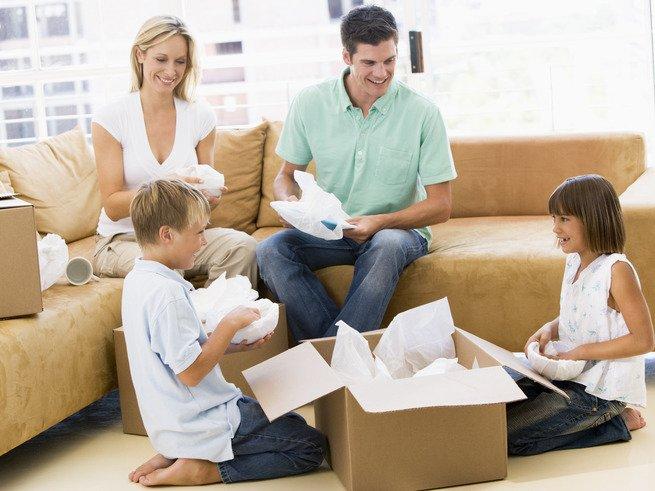 Частые переезды вредны для детей