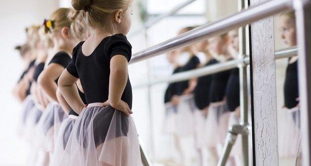 Занятия балетом для детей