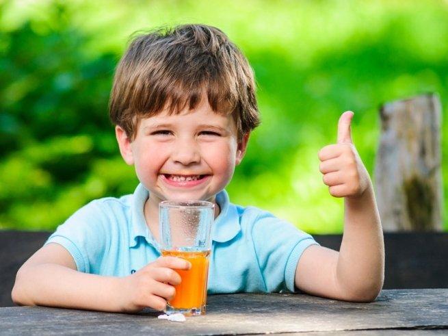 Полезные и вредные напитки для дошколят