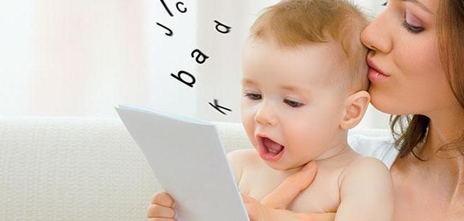Этапы развития речи ребенка в первый год жизни