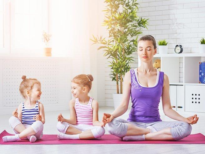 Весёлый фитнес: стихи для зарядки для детей 2-6 лет