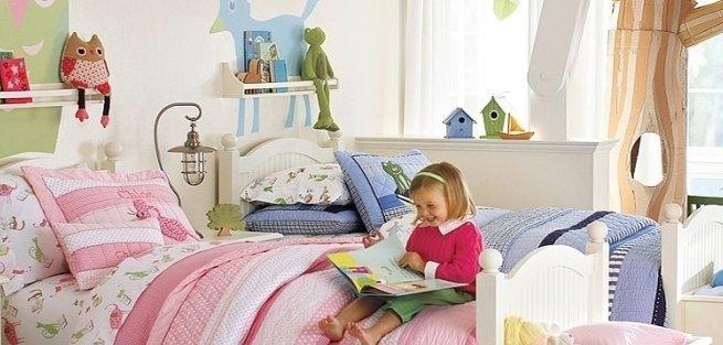 Как украсить стены в детской: 7 оригинальных идей
