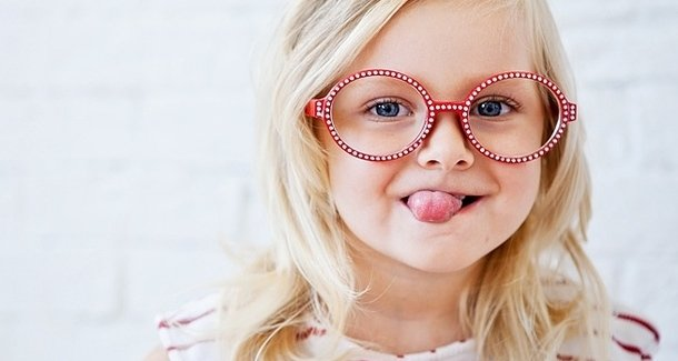 Как выбрать оправу для очков для ребёнка