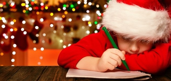 Пишем письмо Деду Морозу: инструкция для мам и малышей