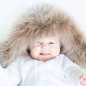 Таблица: зимняя одежда для малыша до года