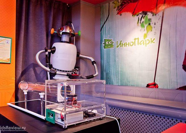 В «ИнноПарке»  можно запрограммировать робота и совершить научное открытие