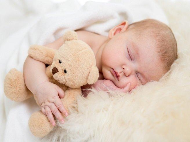 Здоровый сон новорожденного ребенка