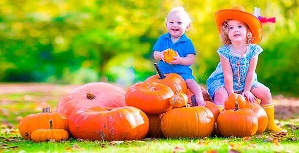 Топ-5 полезных осенних продуктов для детей