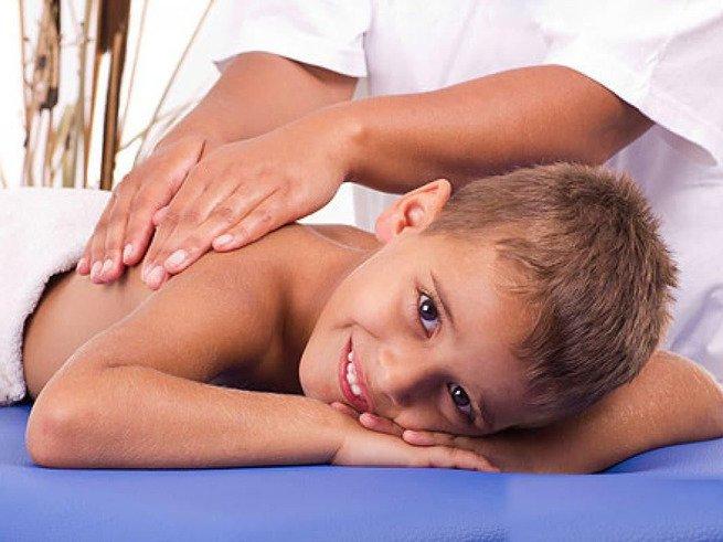 Массаж шейно-воротниковой зоны у детей