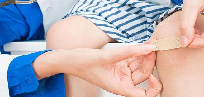 Первая помощь детям при травмах