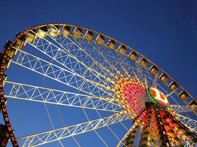 В Москве запустят «солнечное» колесо обозрения