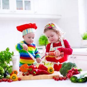 5 овощных блюд для маленьких хищников