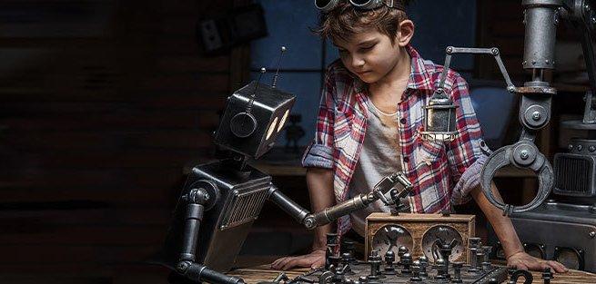 В Москве «ожили» роботы