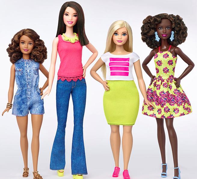 Новые Барби выглядят по-человечески