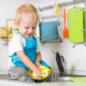 Таблица: домашние обязанности для всех возрастов