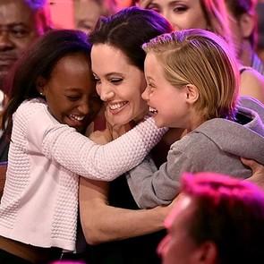 Джоли не беспокоится о том, кем станут её дети