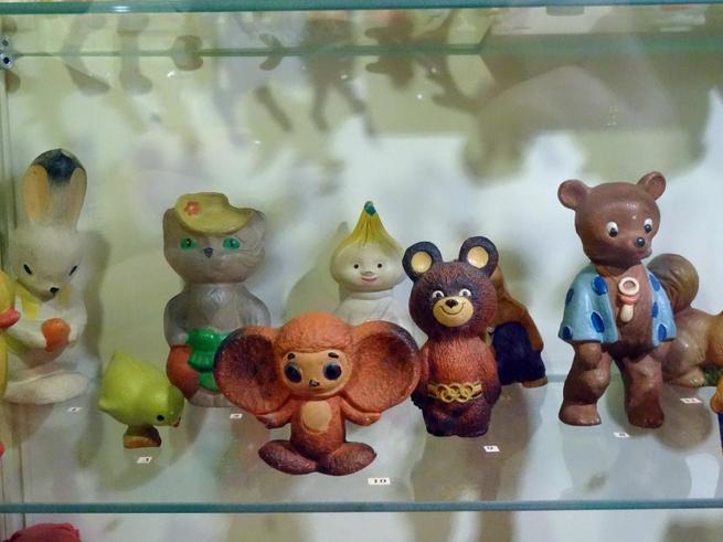 В Музее игрушки  представлена самая большая коллекция игрушек СССР
