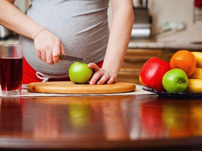 Неправильное питание приводит к преждевременным родам
