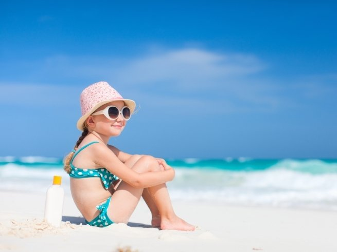 Пляжный отдых с детьми