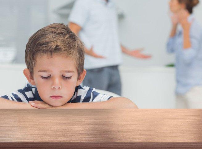Как грамотно выяснять отношения при ребёнке
