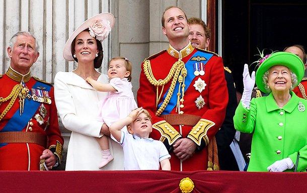 Принцесса Шарлотта блистала на параде в честь Елизаветы II