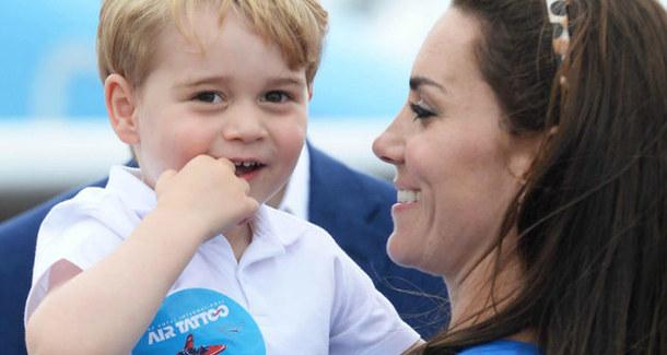 Принц Джордж отметил день рождения
