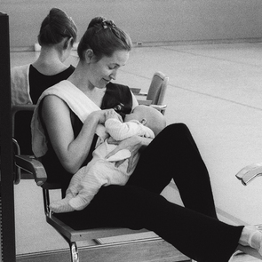 ФОТО: когда твоя мама - балерина
