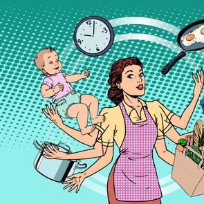 Как все успевать: лайфхаки мамы четверых детей