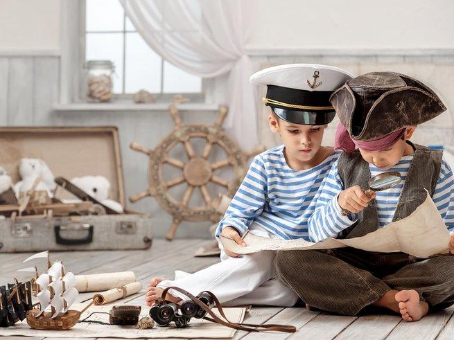Детский квест «В поисках слезы русалки» набирает команду пиратов