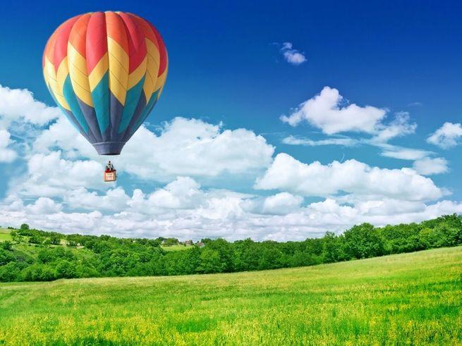 5 мест,  где можно полетать на воздушном шаре