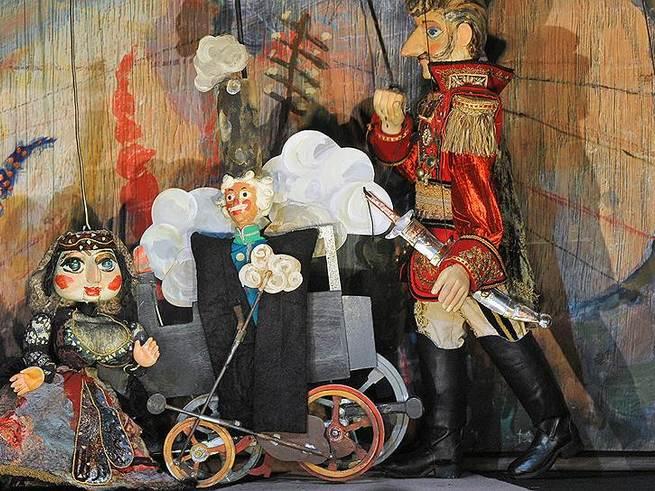 Знаменитый театр марионеток Резо Габриадзе покажет четыре спектакля